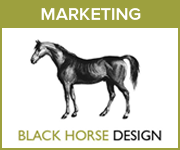 Black Horse Design Marketing (Derbyshire Horse)