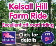 Kelsall Hill Farm Ride (Derbyshire Horse)