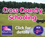 Kelsall Hill XC Schooling (Derbyshire Horse)